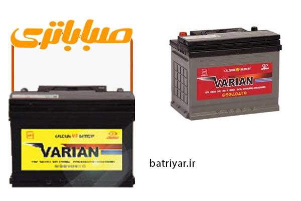 مشخصات کلی باتری های واریان صباباتری